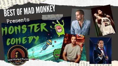 ★  Best of Mad Monkey Comedy  20:00 Uhr Show - mit Kühlanlag...