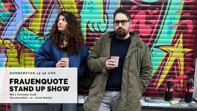 Frauenquote Comedy Show Mitte 19:30 Einlass   20:00 Showbegi...
