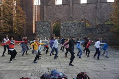 Tanztraining Zombiewalk