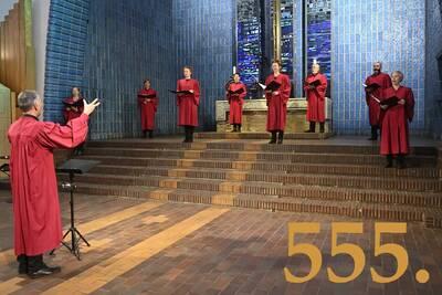 Der 555. NoonSong mit vielstimmiger Chormusik