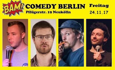 BAM! Comedy Show in Neukölln (auf deutsch)