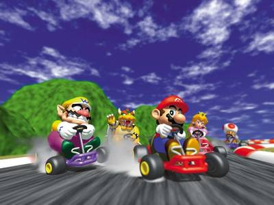 Mario Kart 8 Turnier im Interface!