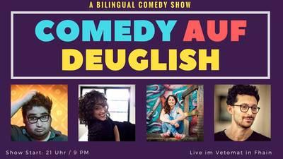 Comedy auf Deuglish - Bilinguale Comedyshow!