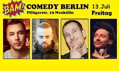 BAM! Comedy Show in Neukölln  / U-Bhf Hermannplatz