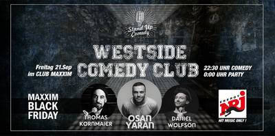 Westside Comedy Club - Comedy und Party in Einem - Direkt am...