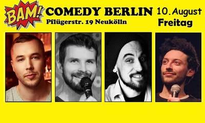 """BAM! Comedy Show"" -  in Neukölln / U-Bhf Hermannp..."