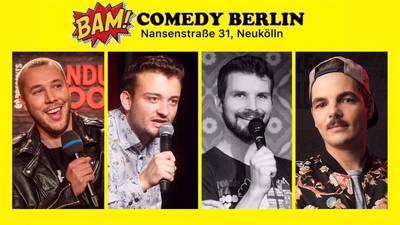 """BAM! Comedy Show"" -  Stand Up in Neukölln / U-Bhf..."