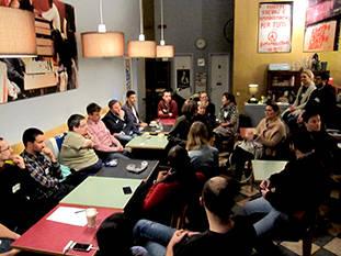 Solopreneurs Meetup, jeden ersten Donnerstag im Monat im Caf...