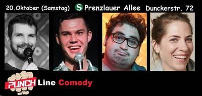 ''PUNCHLINE! Comedy Show'' in Prenzlauer...