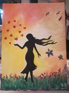 """Vernissage der Ausstellung """"Wunder"""" von Rafaela Gi..."""