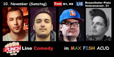 ''PUNCHLINE Comedy Show'' in Berlin-Mitt...