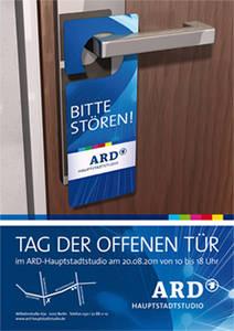 Tag der offenen Tür im ARD-Hauptstadtstudio
