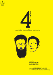 4 Eyes Comedy Storytelling Open Mic
