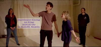 Improtheater-Sonntag mit Kilian (Drop-In-Kurs)