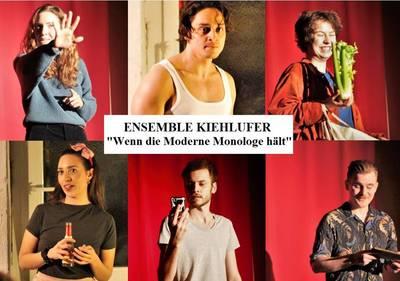 Theaterabend: Wenn die Moderne Monologe hält