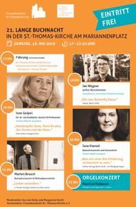 Lange Buchnacht: Jan Wagner, Ines Geipel, Jana Hensel, Mario...
