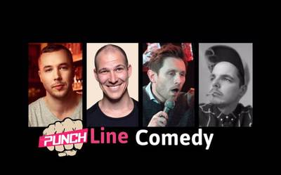 ''PUNCHLINE Comedy Show'' in Berlin-Mitt...