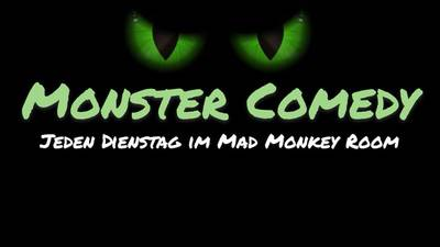 """Monster Comedy"" Stand Up in Prenzlauer Berg (S-bh..."