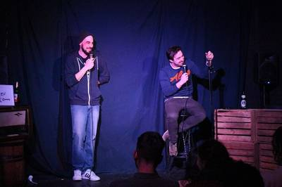 Kabarett & Comedy: Falk Pyrczek und Thomas Kornmaier