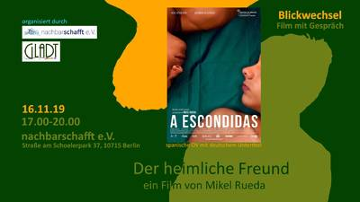 """Film mit Gespräch: """"der heimliche Freund"""""""