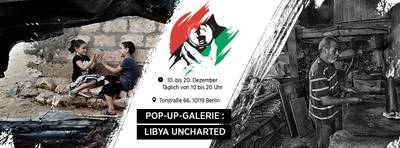 Pop-up-Galerie Libya Uncharted