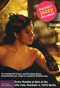 Matilda´s jazzy Mondays - Jazz, Balkan, Gispsy, Blues ...
