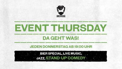 Stand up Comedy Show im BrewDog DogTap feat. Chips & Kav...