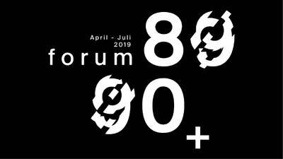 Veranstaltungsreihe FORUM 89/90+