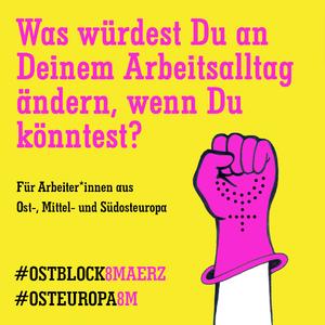 Ostblock 8. März Online-Treffen