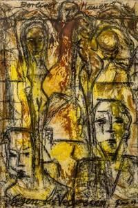 Die Berliner Mauer immer vor Augen. Kunstwerke von Gino Kuhn