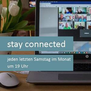 stay connected_Plakat