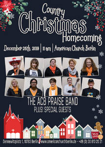 A Country Christmas Homecoming at the American Church Berlin