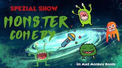 ★ Monster Comedy Show ★  in Prenzlauer Berg im Mad Monkey Ro...