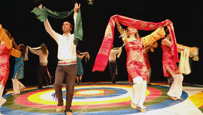 Moderne tibetische Tänze lernen! Tanz Workshops mit Lenka Tc...