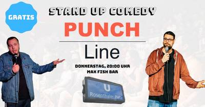 ''PUNCHLINE! Comedy Show'' -  in Berlin-...