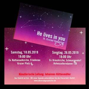 HE LIVES IN YOU - Sommerkonzert des St. Konrad Gospelchors