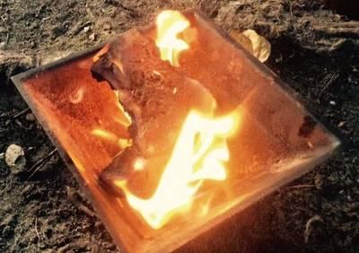 Feuerzeremonien der HOMA-Therapie - Reinigung und Aufladung ...