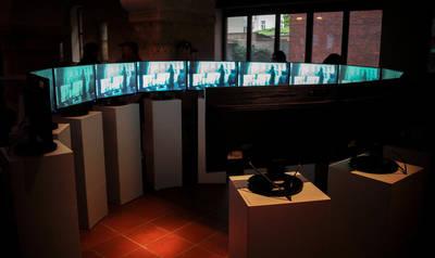 Circles Installation von André Werner