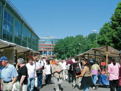 Himmelfahrts-Special am Antikmarkt Ostbahnhof