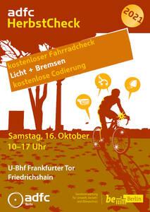 kostenloser ADFC Fahrrad-Check Frankfurter Tor