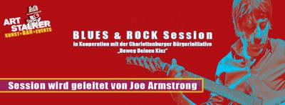 Blues & Rock Sessions immer am zweiten Mittwoch im Mona...