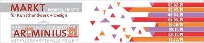 ArTminius21 - Markt für Kunsthandwerk & Design Moabit