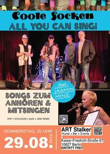 Coole Socken feat. Jasmin Minz - All YOU CAN SING!