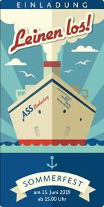 """""""Ahoi und Leinen los"""":  maritimes Sommerfest der Albert Schw..."""