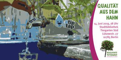 Qualität aus dem Hahn – Trinkwasser ist Klimaschutz