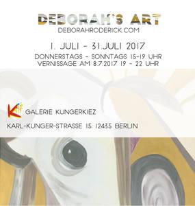 """Ausstellung schwebende Bilder  - """"Eine Berliner Entdeck..."""