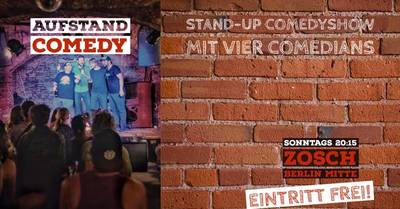 # Aufstand Comedy # Stand Up Comedy Show # Berlin-Mitte #