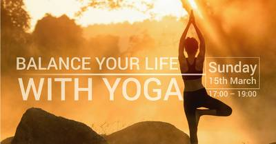 (Cancelled) Balance Your Life with Yoga - free Workshop