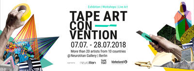 Tape Art Convention – Ausstellung | Workshops | Live Art