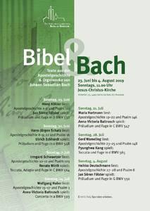 Bibel und Bach - mit Gerd Wameling